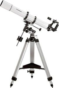 Telescopio refractor ecuatorial Orion 9024 Astroview de 90 mm