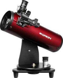 Orion 10012 Skyscanner Telescopio reflector de mesa de 100 mm (burdeos)
